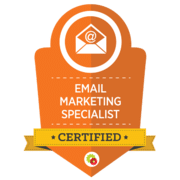 Digital Marketer Certified Email Specialist Badge
