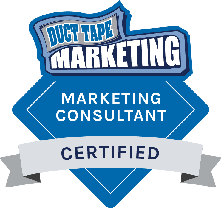 Duct Tape Marketing - Certified Marketing Consultant Badge
