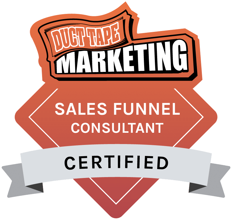 Duct Tape Marketing - Certified Sales Funnel Consultant Badge